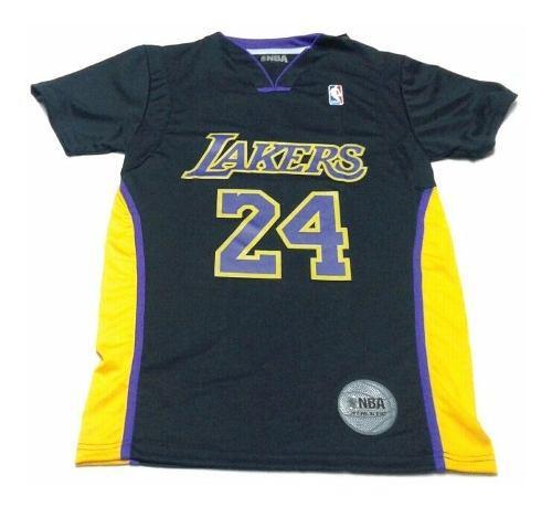 Camiseta de basquet lakers nba oficial- the dark king