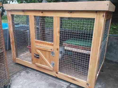 Jaulas de madera para conejos premium
