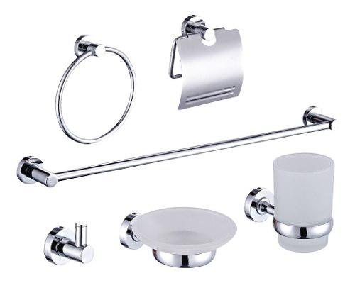 Kit set 6 accesorios baño cromo griferia was-ser sbaden-01