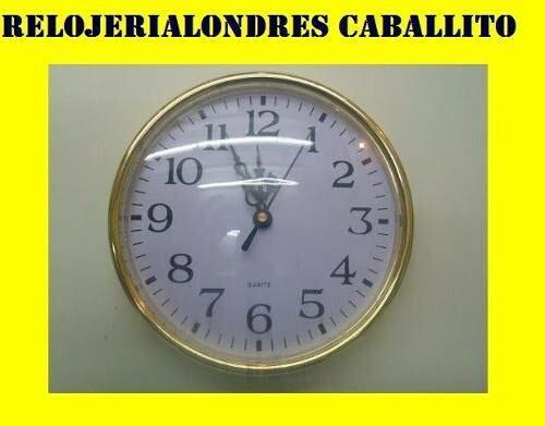 15 Relojes Insertos 16cm Para Armar Hacer Relojes Artesania