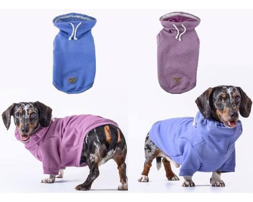 Abrigo Tipo Buzo Para Perros - Cuello Poleron