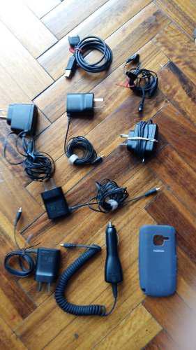 Accesorios celular nokia antiguos manos libres y tv video