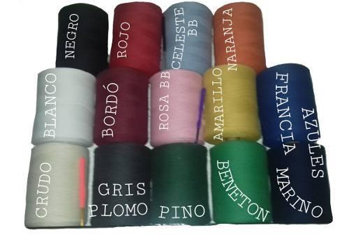 Hilo algodon color excelente tejer, artesanias bajo precio