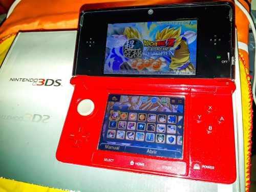 Nintendo 3ds liberada + 32 gb + 10 juegos fisicos originales