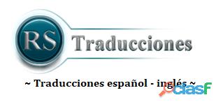 Traducciones públicas español   inglés