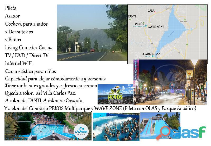 ALQUILO CASA EN SIERRAS DE CORDOBA VERANO 2020 7