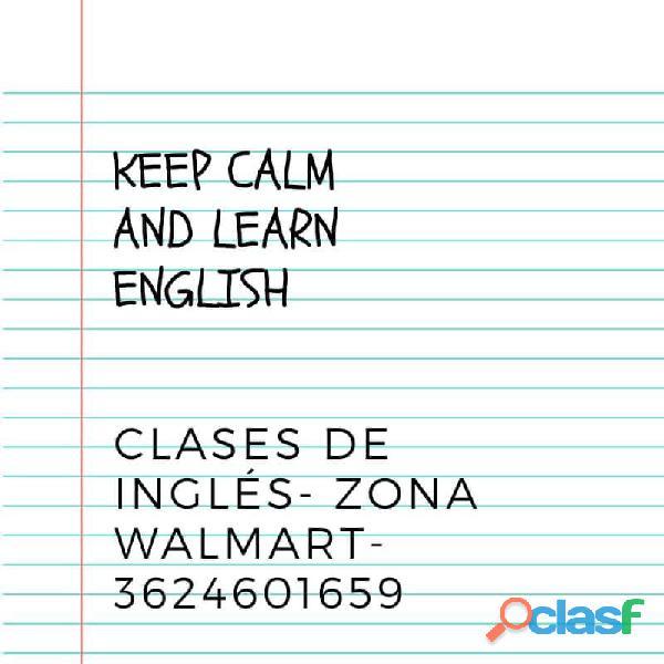 Clases de inglés  zona walmart