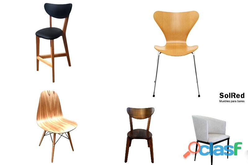Muebles de madera para restaurantes