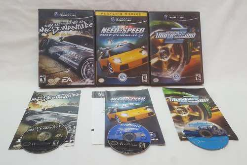 Combo Need For Speed Most Wanted Hot Juego Nintendo Gamecube