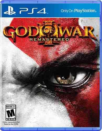God of war 3 remastered ps4 juego cd nuevo original físico