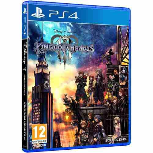 Kingdom of hearts iii ps4 juego cd físico original sellado