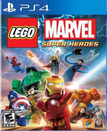 Lego marvel super heroes ps4 juego cd nuevo original físico