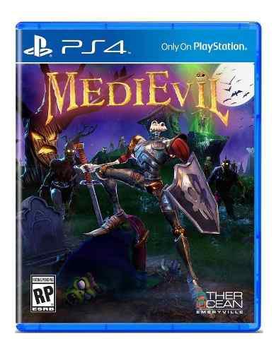 Medievil ps4 juego nuevo original físico sellado