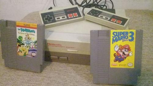 Nintendo nes original + juegos