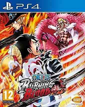 One piece: burning blood juego ps4 fisico.