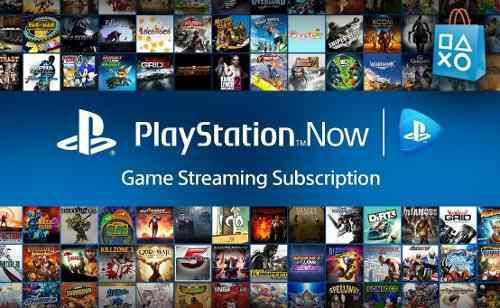 Playstation now ps4 juegos online y descarga un solo envío