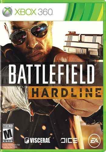 Battlefield hardline xbox 360 juego original físico sellado