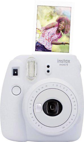 Camara Fujifilm Instantanea Instax Mini 9 Blanco Ahumado