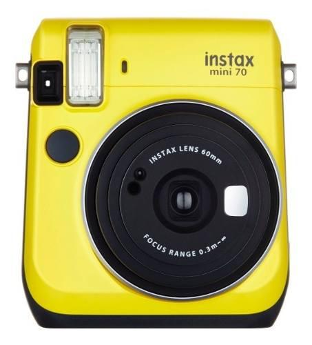 Camara Instantanea Fujifilm Instax Mini 70 Amarillo Cuotas