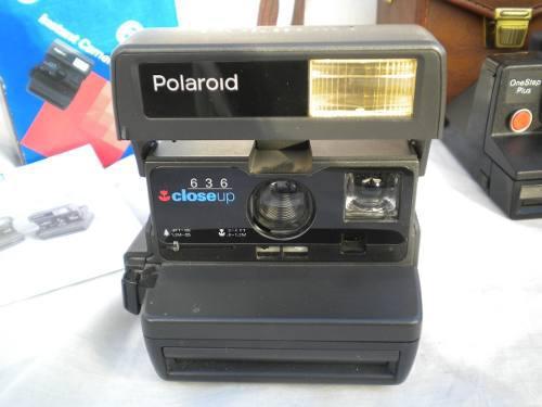 Camara Instantanea Polaroid 636 Closeup Caja Y Manual