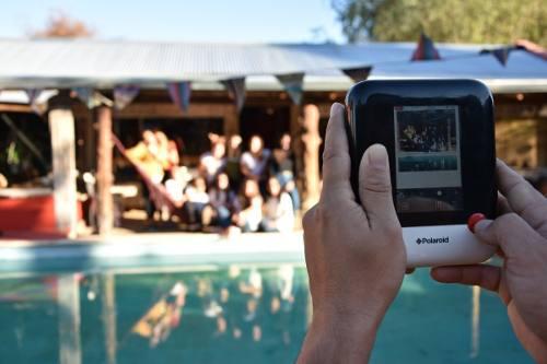 Camara Instantanea Polaroid Pop + 80 Papelesperfecto Estado.