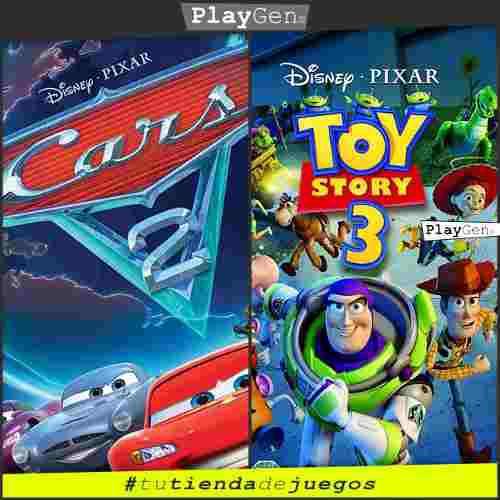 Cars 2 + toy story 3 | juegos ps3 originales regalo niños