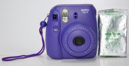 Cámara Instax Mini 8 Fujifilm Impecable Cómo Nueva!