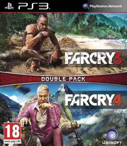 Far cry 3 + 4 ps3 digital | español | juego original | off