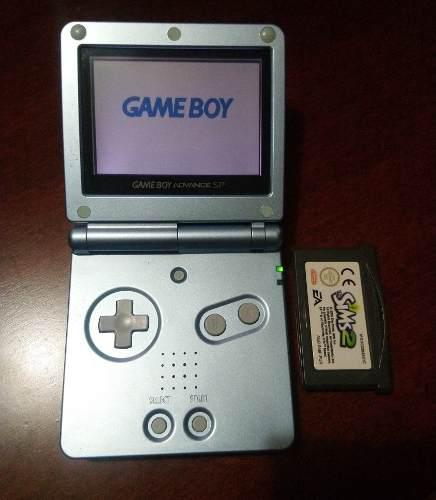 Gameboy Advance Sp Ags001 Con Funda