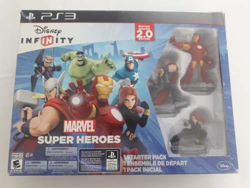 Juego disney infinity marvel superheroes original para ps3