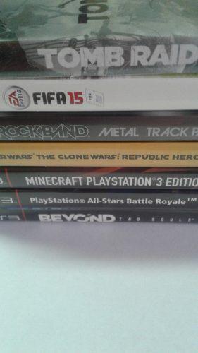 Lote de 7 juegos originales ps3 fisico