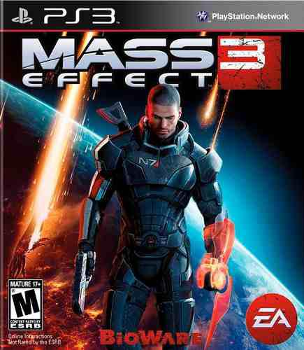 Mass effect 3 ps3 juego nuevo cd original fisico sellado