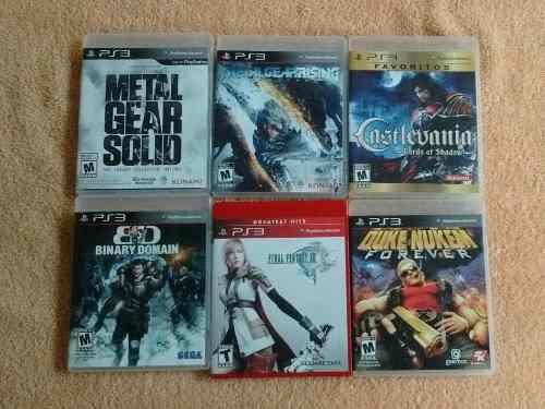 Set 4 juegos originales ps3 playstation 3 baratos oferta !!