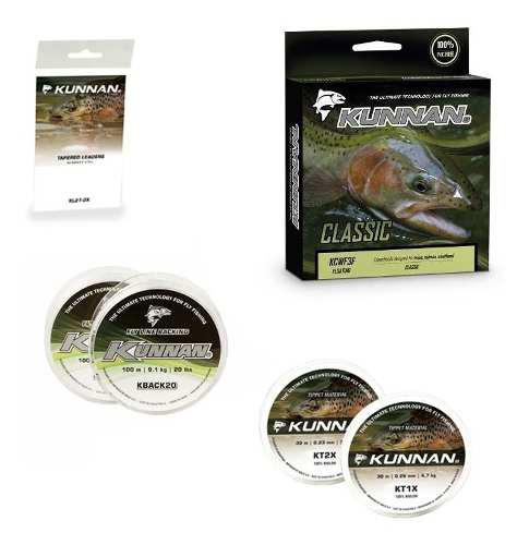 Articulos para pesca mosca fly tippet backing leader linea