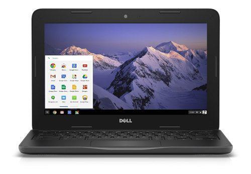 Dell chromebook 11 intel, 4gb ram, 16gb ideal educacion cuot