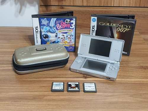 Nintendo ds lite de colección impecable!