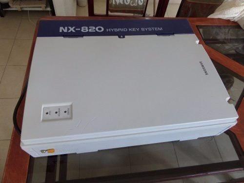 Central telefónica samsung nx-820- usada-andando