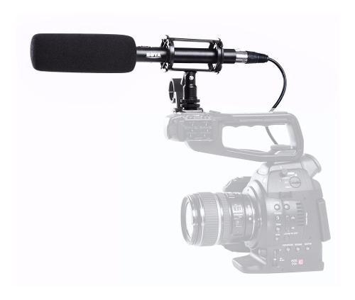 Microfono de mano profesional p/ video dslr boya by-pvm1000
