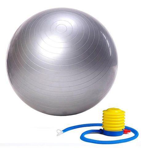 Pelota Pilates Yoga Esferodinamia Gimnasia 65 Cm + Inflador