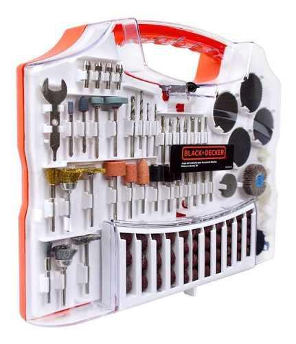 Set accesorios para minitorno black decker 93 piezas dremel