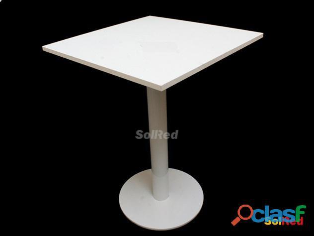 Mesas pie central