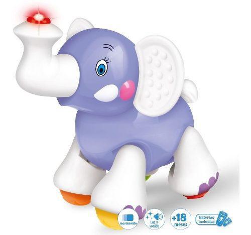Elefante Arrastre Musical Asombroso Bebé El Duende Azul