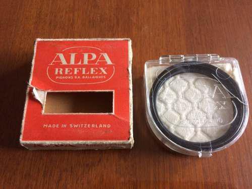 Alpa Reflex Lentilla Aproximación 1 1/4 X