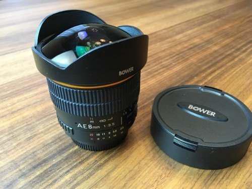 Bower 8mm F3.5 Ultra Fast Fisheye Lens