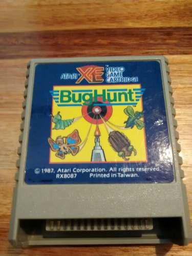 Bug hunt,juego para atari 8 bits xe 400 600 800 xl