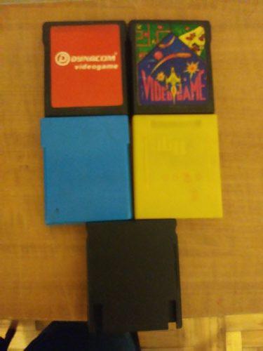 Cadizcopugamer) lote de 5 juegos de atari 2600 / 5200