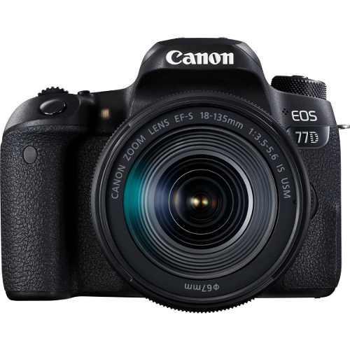 Camara Canon Eos 77d Kit Lente 18-135 Is Usm Nueva Orig Gtia