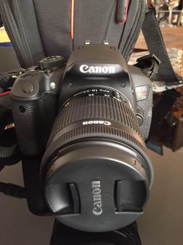 Camara Canon Reflex T5i + Lente 18-55 Mm