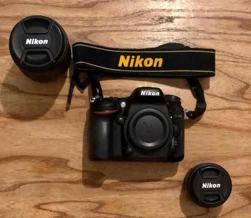 Camara Nikon 7100 + Lente 18-140 Y 50mm + Mochila Lowepro