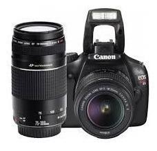 Camara Reflex Canon Rebel T3